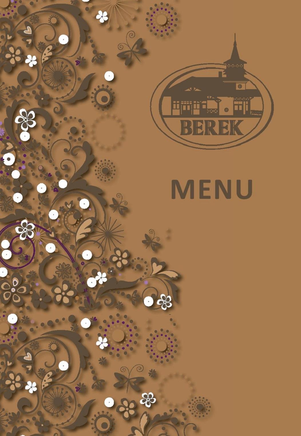 Nedelne menu restauracia Berek Nove Zamky