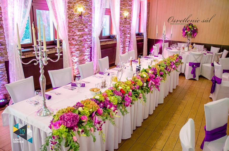 svadba v reštaurácií Berek Nové Zámky
