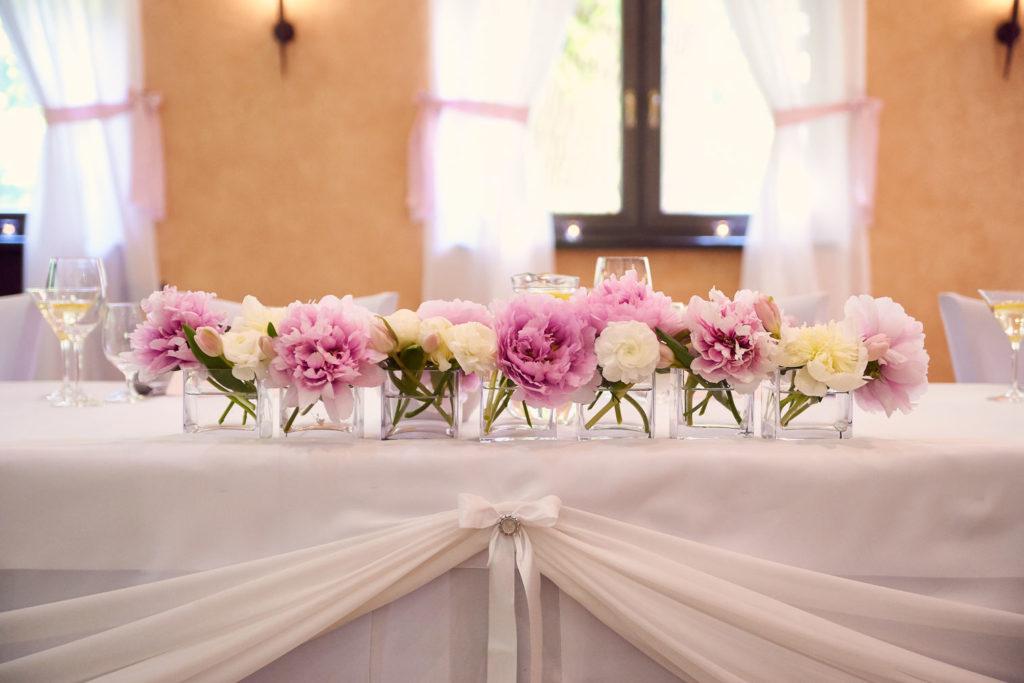 Jedálenské priestory na svadbu Nové Zámky