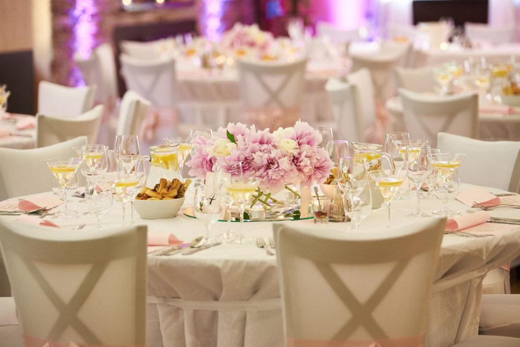 Jedáleň na svadbu Nové Zámky