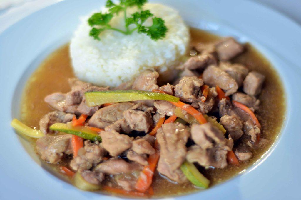 reštaurácie nové zámky obedové menu