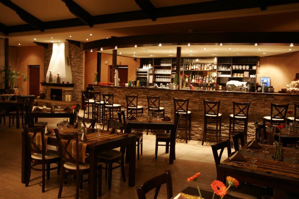 vnútorné priestory reštaurácie Berek Nové Zámky