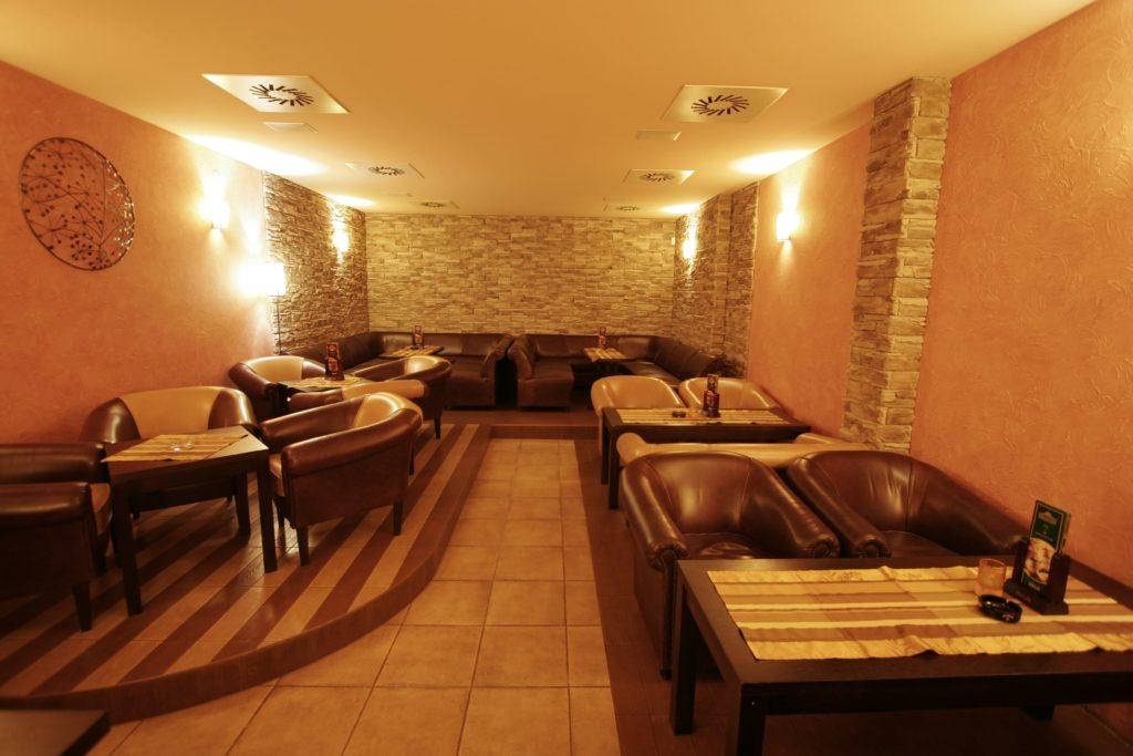 interiér reštaurácie Berek Nové Zámky